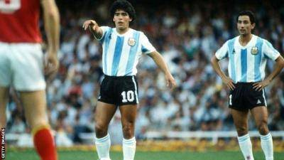 Legend's son wants Messi's No. 10 shirt retired to honor father