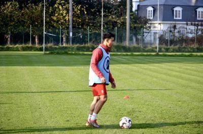 Luqman pulih sepenuhnya, kembali berlatih dengan KV Kortrijk