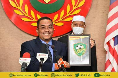 Kedah umum logo baharu, tapi macam logo lama