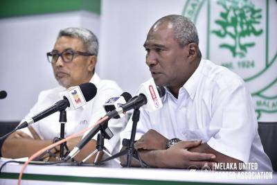 Zainal Abidin kekal, Safiq Rahim tinggalkan Melaka United