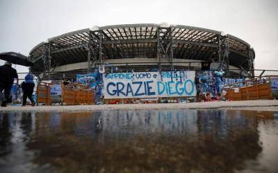 San Paolo officially renamed Diego Armando Maradona Stadium