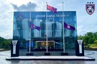 TMJ ucap takziah kepada Syafiq Ahmad, bendera JDT diturun separuh tiang