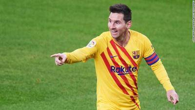 Magical Messi's brace helps resurgent Barcelona move to third in La Liga
