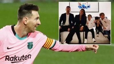 'Oui, PSG?' – Messi dan keluarga 'belajar bahasa Perancis' sebagai jangkaan untuk berpindah ke Ligue 1?