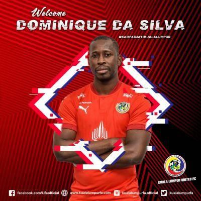 Dominique Da Sylva sertai Kuala Lumpur United