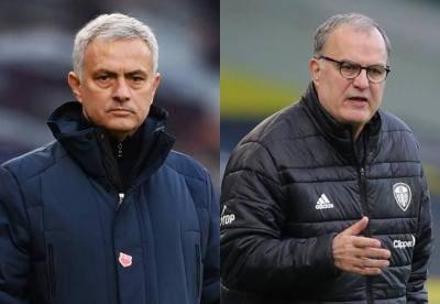 """""""Saya tidak mengenalnya"""" – Jose Mourinho mengalahkan 'pertempuran' masa lalu dengan Marcelo Bielsa"""