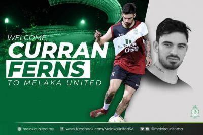 Selepas Narupon, Melaka juga berhutang dengan Curran Ferns