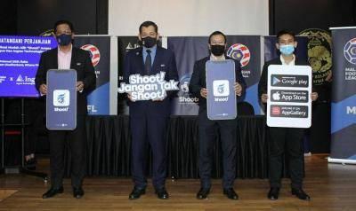 MFL perkenalkan aplikasi Shoot! untuk peminat bola sepak Malaysia