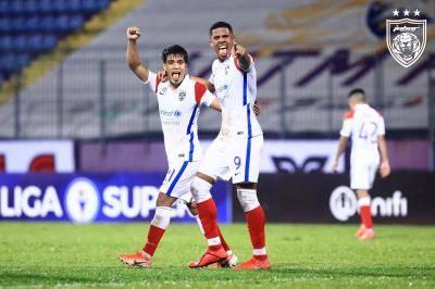 Liga Super: JDT catat kemenangan ketiga berturut-turut, Selangor sekadar seri