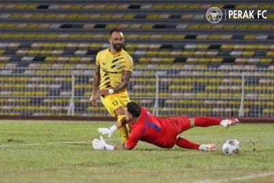 Guilherme De Paula didaftar pemain tempatan Perak, kini pemain naturalisasi ke-3 Malaysia