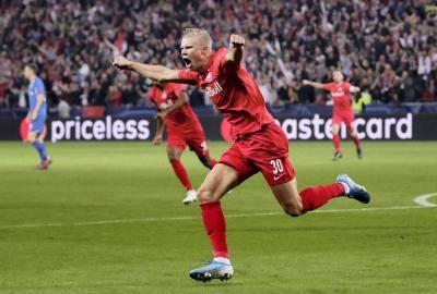 Erling Braut Haaland terpantas mencapai 20 gol Liga Juara-Juara