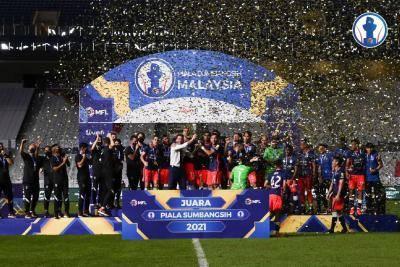 JDT juara Piala Sumbangsih 2021