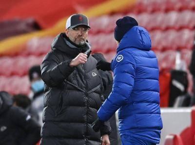 'Ini adalah tamparan hebat. Itu belum selesai '- Klopp menegaskan empat teratas masih mungkin untuk Liverpool