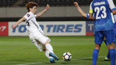 Japan brutally bludgeon Mongolia 14-0 in World Cup qualifier