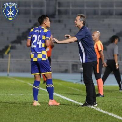 Baru dua perlawanan, Pahang sudah rehatkan Thomas Dooley