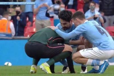 Gerak berkelas dari pemain Manchester City kepada Heung-Min Son yang dirakam dengan kamera