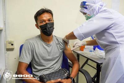 Kedah pasukan Liga Malaysia pertama terima vaksin COVID-19