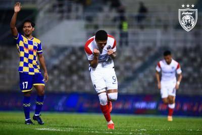 JDT semakin kukuh di puncak Liga Super, Makan Konate wira Terengganu