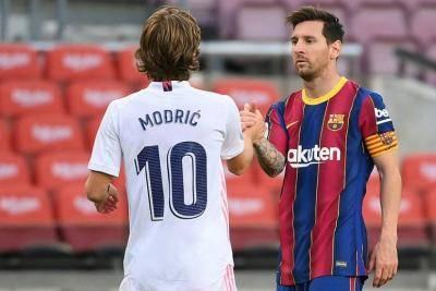 Lionel Messi terdiam ketika Real Madrid mengalahkan Barcelona di El Clasico
