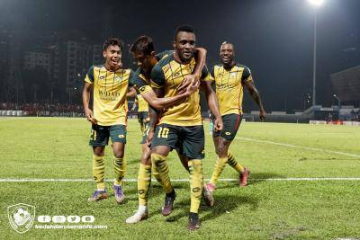 Kedah bangkit dari ketinggalan, Pulau Pinang kini di tangga ke-3 Liga Super