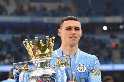 Manchester City's Phil Foden wins Premier League Young Player of the Season award