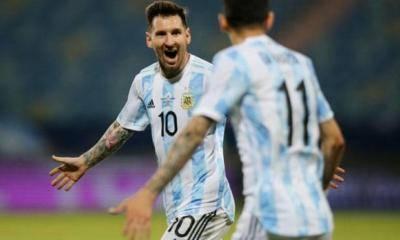 Argentina berdepan Colombia di Copa América separuh akhir selepas persembahan cemerlang Messi