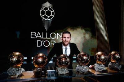 """Akhbar yang berpusat di Madrid: """"Ballon d'Or adalah milik Messi selama dia terus bermain"""""""