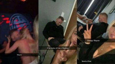 Gambar-gambar baru Wayne Rooney di bilik hotel setelah berdegup dengan tiga gadis berusia 21 tahun