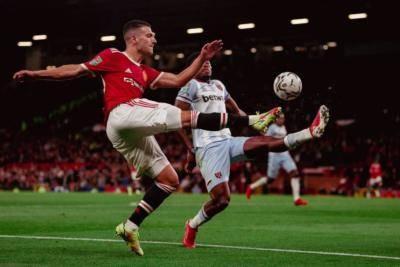 Manchester United tersingkir dari Piala Carabao oleh West Ham