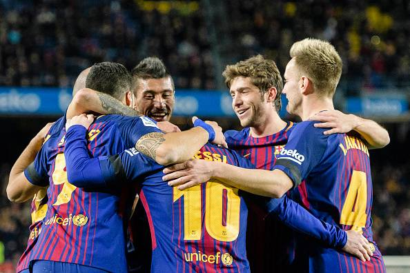 Барселона Эл Класикод ялалт байгууллаа