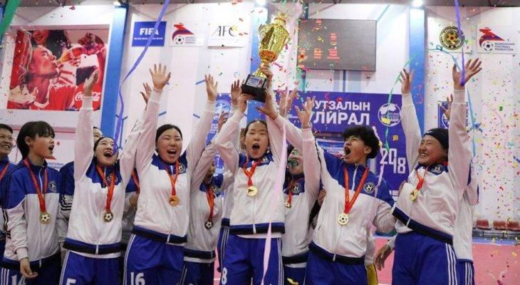 Эмэгтэйчүүдийн футзалын лигийн аварга: Арвис