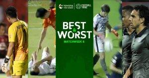 BEST & WORST: ยอดเยี่ยม-ยอดแย่ โตโยต้าไทยลีก 2017 นัดที่8