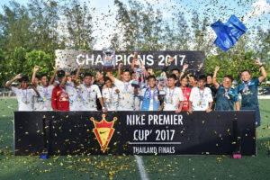 """ฉลามดุ! ชลบุรี ไล่บี้บุรีรัมย์ 3-0 ซิวแชมป์ """"ไนกี้ พรีเมียร์ คัพ 2017"""""""