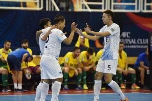 จิรวัฒน์ซัดห้า! บลูเวฟประเดิมอัดทีมเลบานอนยับ 9-0 ศึกชิงแชมป์เอเชีย
