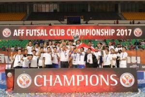 ท่าเรือไล่ต้อนทีมเวียดนาม 4-0 ซิวแชมป์สโมสรอาเซียน 3 สมัยติด