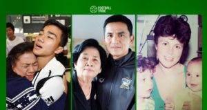 อิ่มอุ่น! ประมวลภาพคนวงการลูกหนังไทยบอกรักวันแม่