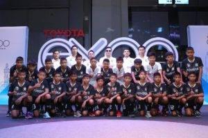 ตัวแทนเด็กไทย! โตโยต้าเปิดตัว 24 แข้งเยาวชนบินลัดฟ้าป้องกันแชมป์ที่ญี่ปุ่น
