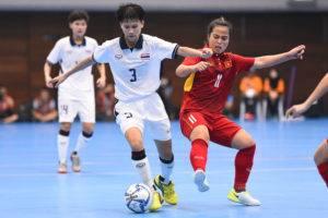 นำจ่าฝูง! โต๊ะเล็กหญิงประเดิมซีเกมส์ดับเวียดนาม 3-1
