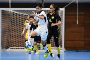 เจ้าภาพเละ! ฟุตซอลหญิงไทยอัดมาเลเซีย 12-0 ซิวทองซีเกมส์