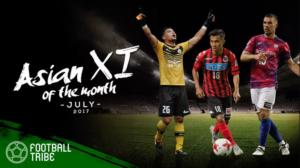 TRIBE ASIAN XI : ทีมยอดเยี่ยมลีกเอเชียฟุตบอลไทรบ์เดือนก.ค. 2017