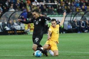 ไล่ไม่ทัน! ออสเตรเลียเฉือนช้างศึก 2-1 ส่งท้ายเกมคัดบอลโลก