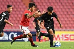 ยังต้องลุ้นเข้ารอบ! ช้างศึกU16สะดุดพ่ายอินโดนีเซีย 0-1 คัดเลือกชิงแชมป์เอเชีย
