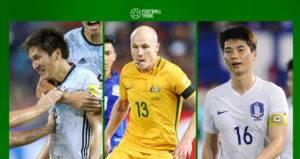TRIBE LIST: 5 แข้งเอเชียโชว์ฟอร์มเด่นในฟุตบอลโลกรอบคัดเลือก