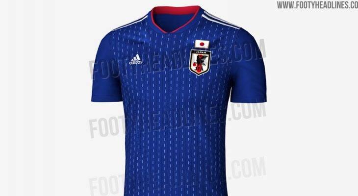 หลุด! สื่อนอกเผยภาพชุดใหม่ทีมชาติญี่ปุ่นลุยบอลโลก 2018