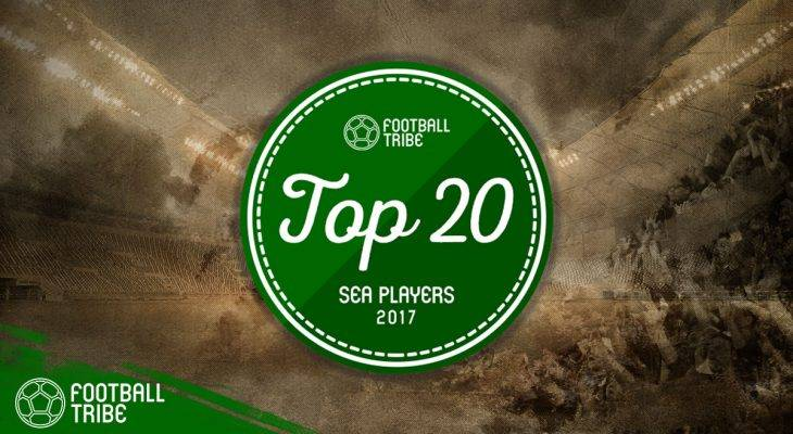 Football Tribe Awards: 20 ยอดแข้งอาเซียน 2017 (อันดับที่ 10-4)