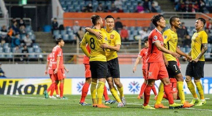 นำฝูงต่อ! กวางโจวยังไร้พ่ายบุกทุบเจจู 2-0