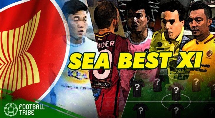 TRIBE SEA BEST XI: ทีมอาเซียนยอดเยี่ยมประจำสัปดาห์ (1-7 พ.ค.)