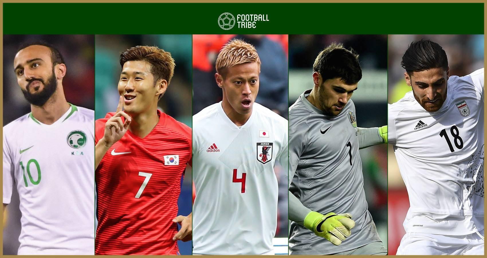 ตัวแทนทวีป : 10 แข้งเอเชียรอผงาดฟุตบอลโลก 2018