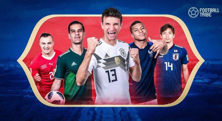 สุดในรุ่น: 10 เรื่องที่คุณอาจจะยังไม่รู้ในฟุตบอลโลก 2018