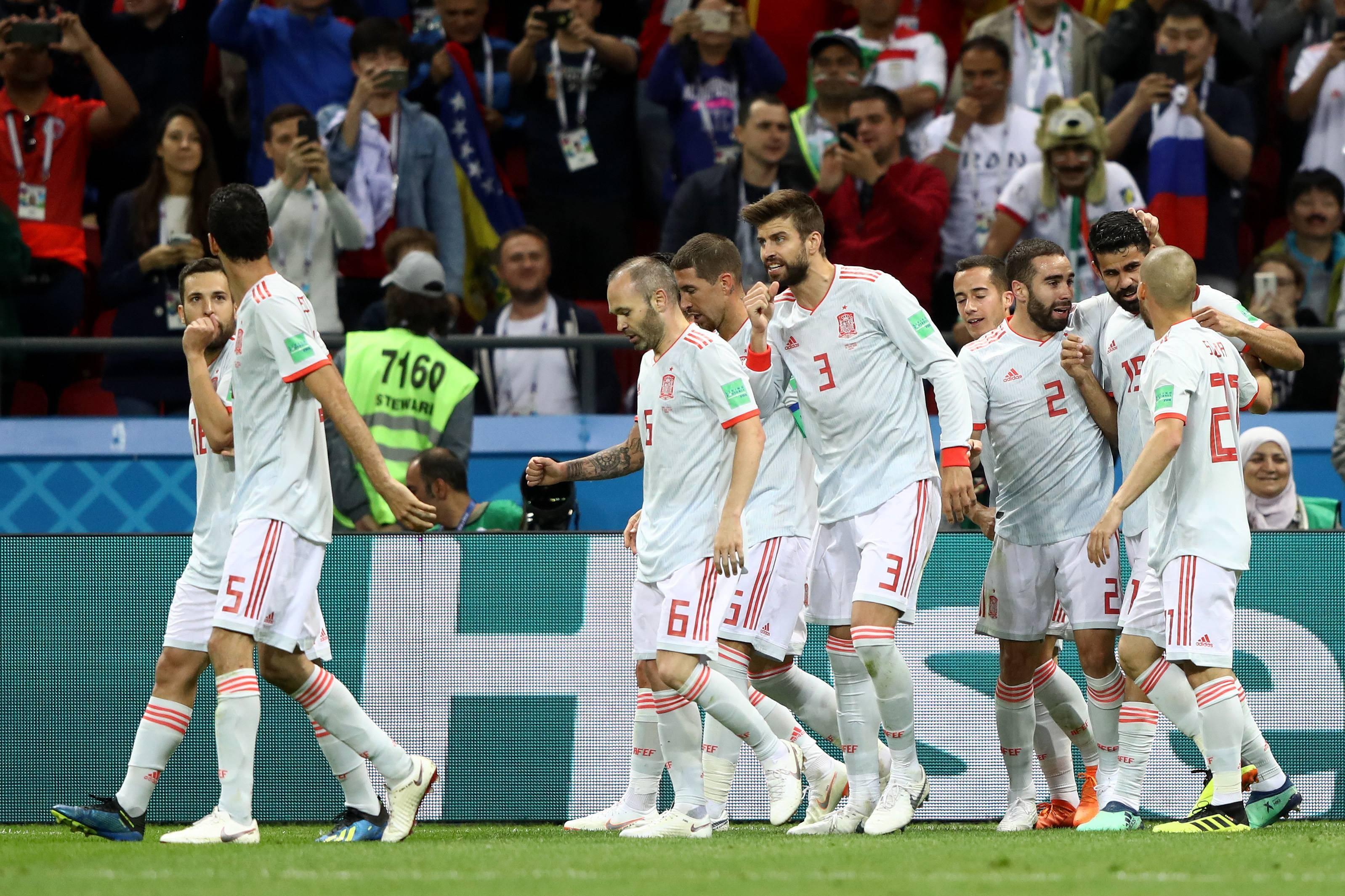 แย่งเข้ารอบสนุก! 5 สถิติเด่นหลังแมตช์สเปนเฉือนอิหร่าน 1-0